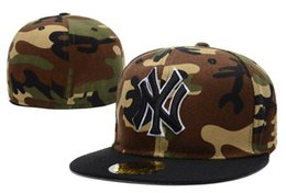 brand new c805b fd293 orange camo hats Coupons - Wholesale Cheap Price Full Camo Color Letter NY fitted  Hats Men s