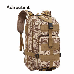 small blue bowl Promo Codes - 20-35l 600d Outdoor Military Tactical Backpack 30l Molle Bag Army Sport Travel Rucksack Camping Hiking Trekking Camouflage Bag Y19061004
