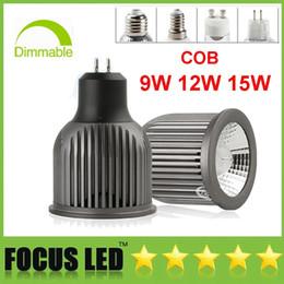 COB Led ampoules 9W 12W 15W Led Spot Spot GU10 MR16 E27 E14 GU5.3 spot Downlight Bombilla Vitrine Affichage Lumières Lampe 110-240V ? partir de fabricateur