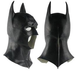 belas meias máscaras para mulheres Desconto 2019 Realistic Máscara Halloween completa Rosto Latex Costume The Dark Knight Rises Máscaras do partido do filme Carnaval Cosplay Props