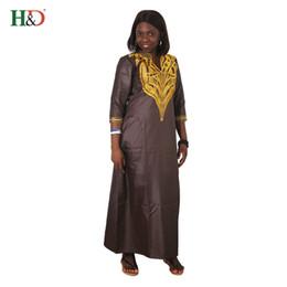 Африка одежда дашики платье для женщин африканский халат африканская одежда Базен богатые одежды вышивка платья от