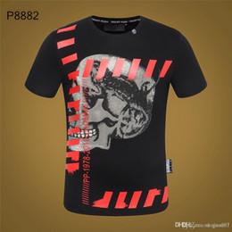 2019 disegni di verniciatura a spruzzo Maglietta 18s T Shirt Marvel Punisher Spray Paint Men Maglietta TShirt Logo Awesome Superhero Vestiti Hip Hop Tees Black White Art Design disegni di verniciatura a spruzzo economici