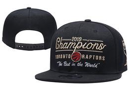 Chapéus de snapback preto on-line-Toronto Black 2019 Finais Campeões Raptors chapéu Vestiário 9FIFTY Snapback Ajustável Chapéus para Crianças Juventude Womens e Mens sport cap