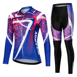 2019 conjuntos de jersey de ciclismo anti-bacterianos Mulheres mangas compridas Road Bike Vestuário Feminino Ciclismo Ciclismo Jersey Mtb bicicleta roupa de equitação shirt da equipe Jersey personalizado Design