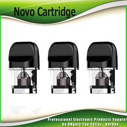 Cartouche rechargeable en Ligne-Cartouche originale de Novo Cartouches 2 ml rechargeable vide atomiseur de rechange pour kit Novo 100% authentique