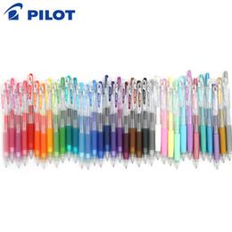 stylo à colle en gros Promotion 10pcs Juice Pilot Pen Couleur Gel LJU-10UF 0,5 mm 0,38 mm LJU-10EF japonais marque colorée stylos Gel