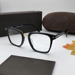 2019 mode lunettes Authentique luxe mens marque optique lunettes 5523 cadre carré vente lunettes de mode pour les femmes lentille claire lunettes avec boîte d'origine mode lunettes pas cher