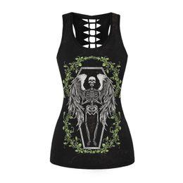 Oh My God Skeleton Skull Funny Indie T-shirt Vest Tank Top Men Women Unisex 1854