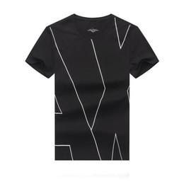 Deutschland Herren Luxus Designer Bekleidung High-End Herren Freizeitbekleidung Marke Luxus Shirt Small Round Collar Schwarz und Weiß Herren T-Shirt supplier mens white high collar shirt Versorgung