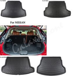 bandeja de arranque Rebajas Coche trasero de carga Boot Liner Tronco Mat piso bandeja para 2014-2018 Nissan Rogue / XTrail Qashqai Altima Teana
