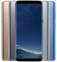 """téléphone intelligent déverrouillé Promotion 1PCS Original déverrouillé Samsung Galaxy S8 S8 PLUS Téléphone mobile 5.8"""" /6.2 '' 4 Go de RAM 64GB ROM Octa base 3000mAh Réformé Téléphone"""
