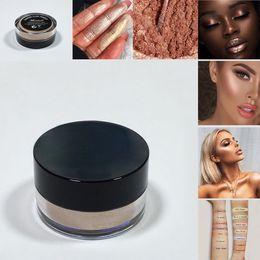 Artista Couture Jackie Aina Diamond Glow Powder Highlighter Bronceadores de ojosShadow Iluminati La Bronze La Peach Highlighter Loose Power 24g desde fabricantes