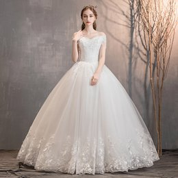 Canada soutien-gorge français robe de mariée lumière 2019 nouvelle Tailing étoiles de luxe féminin ciel petit homme Hepburn super immortel semble mince Offre