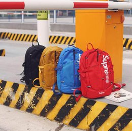 black yellow sports backpack Coupons - designer backpack Unisex bag couple outdoor large-capacity travel bag student backpa backpack trend bag hot designer fashion free shipping