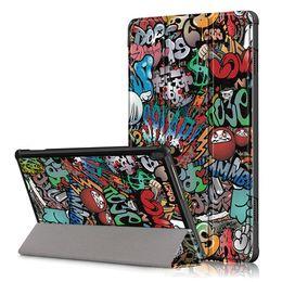 Rosa lenovo tablet fall online-Superdünne Ganzkörper Stand Ledertasche für Lenovo Tab M10 TB-X505-X605 10.1 TB Tablet Schutzschale pouch