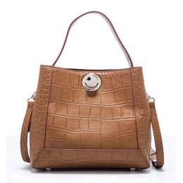 f9fc92d95d835 Neue Krokoprägung Weiches Leder Frauen Tasche Europa Amerika Wind Große  Kapazität Handtasche Mode Wilde Schulter Umhängetasche