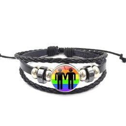 new diy products Promo Codes - DIY Bracelet New Products Homosex Ornaments Hand Beads Rainbow Time Gemstone Beads Fashion Rope Creative Idea Factory Direct Selling 2 3xsP1