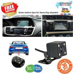 rca mount Promotion 170 ° vue arrière de voiture renversant la caméra HD sauvegarder la plaque de stationnement vision nocturne IR LED