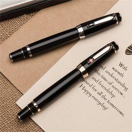 Top Alta qualità Bohemies Black Resin Roller penna a sfera Scuola cancelleria per ufficio Diamond intarsiato Clip con marchi Monte Germania Numero di serie da