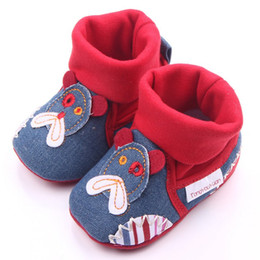 Argentina patrones zapatos de bebé diseño lindo niños niñas antideslizantes invierno cálido botas sapato infantil menino cheap shoes boot design Suministro