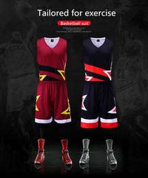 basquetebol impresso personalizado Desconto Uniformes de basquete de secagem rápida, conjuntos de jogo comprar personalizado, homens e mulheres imprimir jerseys de treinamento de colete respirável.