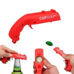 brotes de coches Rebajas Creative Cap Gun Launcher Shooter Abrebotellas, abridores de cerveza - Dispara a más de 5 metros (4 colores) de automóviles