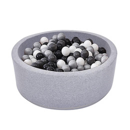 Indoor Soft Kids per bambini Gioca a palla Pool Quality Sponge Ocean Ball Pool Deluxe Baby Round Pit Regalo ideale da