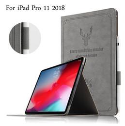 flip de la flor ipad mini Rebajas Nueva Funda Inteligente de Cuero Mate Magnética Para iPad Pro 11 pulgadas 2018 Auto Wake Sleep Stand Flip Cover