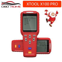 Programador de milhagem obd2 on-line-Ferramenta de diagnóstico Melhor XTOOL X100 Pro OBD2 Auto Programador Chave / ajuste de Milhagem Incluindo Leitor de Código EEPROM com Atualização Gratuita