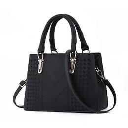 Frauen leder tops online-Designer-Handtaschen Damen Top-Griff Cross Body Handtasche Middle Size Geldbörse Durable Leather Tote Bag Damen Umhängetaschen