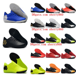 12e2d3a9c 2019 indoor turf soccer shoes VAPORX 12CLUB TF IC CR7 neymar Ronaldo football  boots mens low soccer cleats Mercurial Superfly orange discount cr7 shoes  ...
