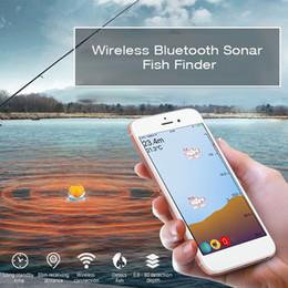 2019 aplicativo portátil Os peixes sensíveis detectam a água portátil profissional do IOS 125KHz do IOS do Fishfinder da sonda desconto aplicativo portátil