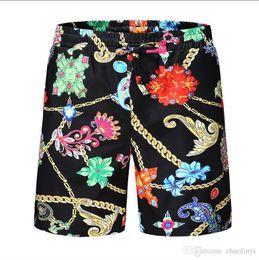 mens floral bordo shorts Desconto Venda por atacado Shorts de moda verão Nova placa de designer curta secagem rápida SwimWear placa de impressão calças de praia homens Mens Shorts de natação - # 002