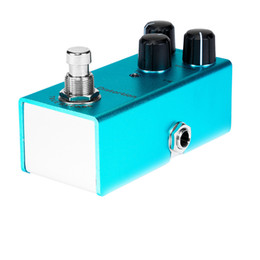 задержка гитары Скидка Электрогитара эффектор звукового эффект 10 цвета