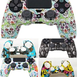 Jouer 4 contrôleur de jeu en Ligne-zprrF Silicone for Skin Game Case Shell Protective Playstation Controller PS4 Play Station DS4 PS 4 Cover Gamepad