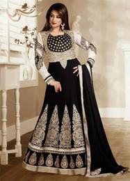 Deutschland 2019 Neue Luxus Sexy Abendkleider Saudi Arabische Dubai Indische Prom Kleider mit langen Ärmeln Bodenlangen Vestido De Festa cheap indian prom dresses sleeves Versorgung