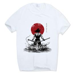 2019 vêtements de marque z Dragon Ball Z Goku T-shirt À Manches Courtes T-shirt Col V Été Saiyan Vegeta Harajuku Marque Vêtements T shirt promotion vêtements de marque z