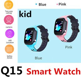 Q15 Kid Smart Call Montre LBS de positionnement Dialogue vocal Dialogue micro-chat Clôture électronique Protection à distance Caméra étanche Enfants 50 Packs ? partir de fabricateur