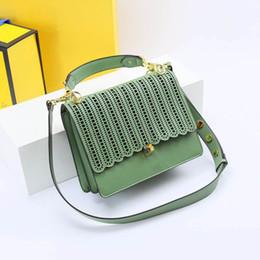 Sac à main de designer 2019 nouvelle mode sac à bandoulière creux femmes italienne célèbre designer de marque de haute qualité luxe en cuir véritable sac à main ? partir de fabricateur