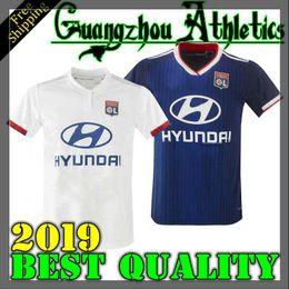 f5d7e288ca 19 20 camisetas de fútbol de Lyon en casa lejos de casa 10 TRAORE 18 FEKIR  DEMBELE 21 DUBOIS 14 NDOMBELE 28