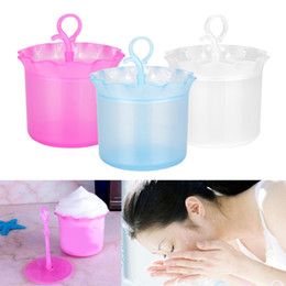 bräunungswerkzeuge Rabatt Gesicht Körper reinigen Werkzeug waschen Reiniger Maker Cup Bubble Foamer Schaum mischen Tools Rühren Stick Flasche Werkzeug für Gesicht und Körper