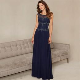 Elegante elegante vestidos de noite on-line-PF442 Elegante Frisado Chiffon Vestido Formal Chic Ilusão de Volta Cap Manga Vestidos de Noite 2019 Com Lantejoulas Vestido de festa