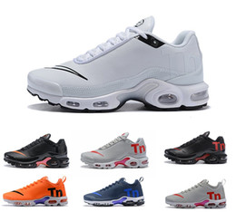 low priced f97de 188d9 2019 Più recenti Air Mercurial Nike Air Max airmax AIRMAX Plus Tn Ultra SE Nero  Bianco Blu marrone Scarpe outdoor scarpe da ginnastica all aperto Donna  Uomo ...
