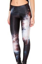 горячие девушки йога штаны Скидка Горячая 3009 сексуальная девушка женщины черная вселенная галактика звездное небо 3D принты работает эластичные фитнес спортивные леггинсы Yoga Pants # 864843