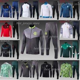 B jaquetas on-line-flamengo GABRIEL B. palmeiras Sets DUDU Futebol / Fatos Griezmann manga longa cheia jaqueta com zíper de futebol Mbappé sportswear fato de treino