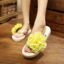 Sandali bianchi neri di boemia online-Home Pantofole Donna Infradito Appartamenti Sandali Estate Spiaggia Infradito Donna Nuova moda Casual Pantofole della Boemia Nero Bianco