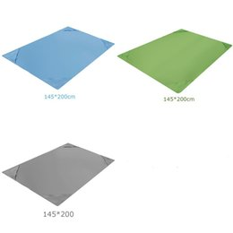 polyester fiber padding Coupons - Waterproof Beach Mat Outdoors Portable Foldable Pure Color Beaches Mats Rectangle Polyester Fiber Picnic Pad Sell Well 13 5my J1