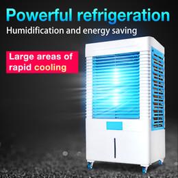 Enfriador de agua móvil online-Nuevo diseño venta caliente móvil precio de fábrica control de humedad portátil sala de agua hogar evaporador enfriador de aire