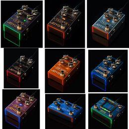 2019 partes de transistores Nuevo Pedal Efectivo de Guitarra electrónica Serie JOYO R de TAICHI TAUREN Alta Ganancia UZI ZIP AMP MAXIMO O.M.B ACUARIO XVI