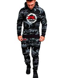 2019 sport suzuki Männer Camouflage Sports Set Kapuzenpullover Kleidung Mode SUZUKI R GSX Hoody Für Männer Suzuki gedruckt Hoodies rabatt sport suzuki